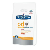 Hill's Prescription Diet Feline c/d Multicare Reduced Calorie 8.0 kg