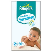 Pampers New Baby Size 2 (3-6kg) Sensitive Essential Pack Mini 3x56 per pack