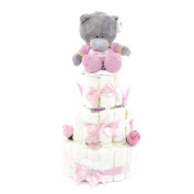 3 Tier Me to You Bear Nappy Cake