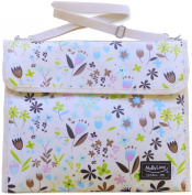 MaByLand Summery Floral Changing Mat Bag