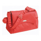 Koo Di (Formerly Samsonite) Messenger Baby Nappy / Changing Bag, colour Orange