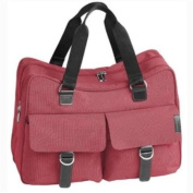 Little Lifestyles City Maternity/Weekend Holdall, colour Raspberry