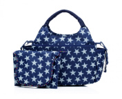 Momymoo Mono Baby Changing Bag with Stars