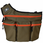 Nappy Dude Original Messenger I Changing Bag Olive/Orange