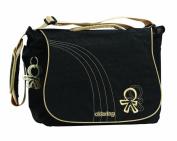 Okiedog Urban Sphynx Black Nappy Bag