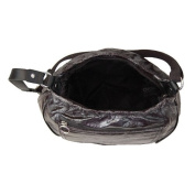 Black Metallic Out & About Nappy Bag
