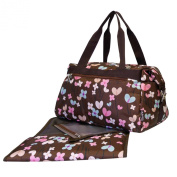 Mabyland Sweet-Pea Overnight Changing Bag Set