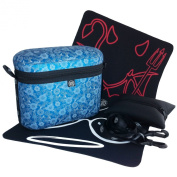 Blue Flower Bruno Bag by Duck Soup