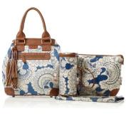Isoki Bucket Nappy Bag, Pelligrino Blue - 000670