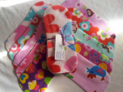Easy Peasy Fleece Nappy Liners Pk 10 Mixed Girl Prints