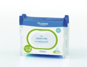 Mustela High Tolerance Face Wipes Pack of 2