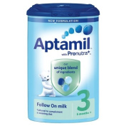 Aptamil 3 Follow On Milk from 6 Months 1 x 900gm