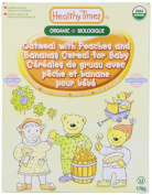 Healthy Times, Organic Oatmeal with Peaches and Banana Cereal for Baby, 180ml