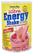 Natures Plus ULTRA ENERGY EXOTIC RED FRUIT SHAKE .8LB