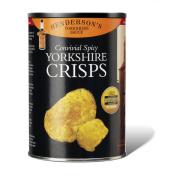 YORKSHIRE CRISPS Henderson's Yorkshire Sauce 1 x 100g Drum