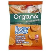 Organix Organic Carrot & Tomato Rice Cakes