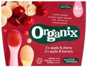 Organix 100% Organic Fruit Pots¶ÿ 4¶ÿx 100g