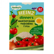 Heinz 4 Month Med Vegetable and Rice Packet 125g
