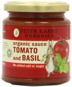 Peter Rabbit Organics From 9 Months Organic Tomato and Basil Sauce 300 g