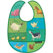 Crocodile Creek Bib - Barnyard Sounds