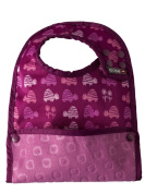 Close Pop-In Reversible Stage 2 Turtle Print Bib