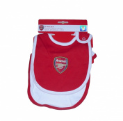 BABY BOYS 2 PACK BIBS ARSENAL