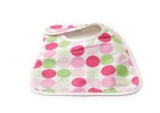 Babylicious Basic Bib Groovy Pink Large Dot