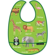Crocodile Creek Bib - Wild Animals