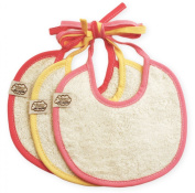 ImseVimse Dribble Bibs Rose Colour - Pack of 3