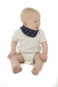Snoodie Dribble Bib with Stars
