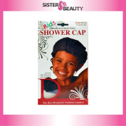 Donna Premium Collection Kids Shower Cap #11214 Black