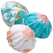 (1) Terry-lined Vinyl Shower Cap Bonnet