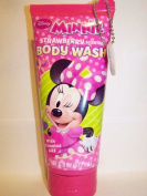 Disney Minnie Mouse Body Wash, Strawberry Scented, 180ml