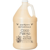 For Pro Ginger Lily Farms Botanicals Body Wash Gallon, Coco Mango, 128 Fluid Ounce