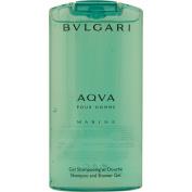 Aqva Marine for Men by Bvlgari Shampoo & Shower Gel 200ml