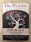 Dr. Woods, Face Clnsng Bar,Raw Blk -- 160ml