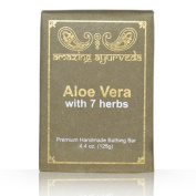 Amazing Ayurveda Premium Handmade Soap- Aloe Vera with 7 Herbs, 130ml