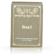 Amazing Ayurveda Premium Handmade Soap- Basil 130ml