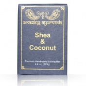 Amazing Ayurveda Premium Handmade Soap- Shea Butter & Coconut, 130ml