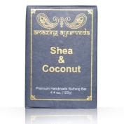 Amazing Ayurveda Premium Handmade Soap- Shea Butter & Coconut, 130ml