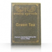 Amazing Ayurveda Premium Handmade Soap- Green Tea, 130ml