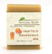Hop To It - Grapefruit IPA All Natural Handmade Bar Soap, 120ml