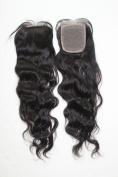 100% Virgin Remy Human Hair 5A Brazilian Human Hair Silk Top Closure E-Closure 4X4 Natural Colour 46cm Loose Wave Human Hair Extensions