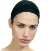 QFitt Wig Cap In Sheer Black