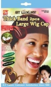 Beauty Town Thick Band Large Wig Cap (2 Pieces)