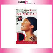 Donna Premium Collection 5 Piece Wig Cap #22030 Black