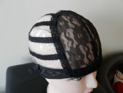 Size Large Classic Wig Cap. Original Traditional Wig Making Cap. Stretchy.Adjustable Straps