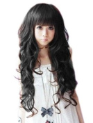 Curly Long Ladies Sexy Women's Wave Full Wigs Party WIG Jf010013