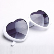 Mordor Women Heart Shaped Plastic Sunglasses Lolita Fashion Eyewear MS