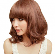 Bemaystar Women's Beautiful Short Wavy Wig